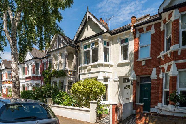 Thumbnail Terraced house for sale in Hazledene Road, Chiswick, London