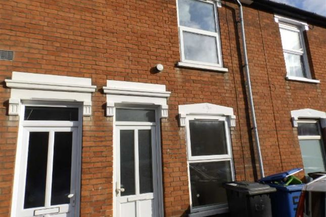 Thumbnail Terraced house to rent in Surrey Road, Ipswich, Suffolk