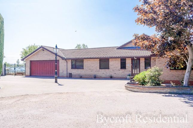 Thumbnail Detached bungalow for sale in Priory Road, St. Olaves, Great Yarmouth