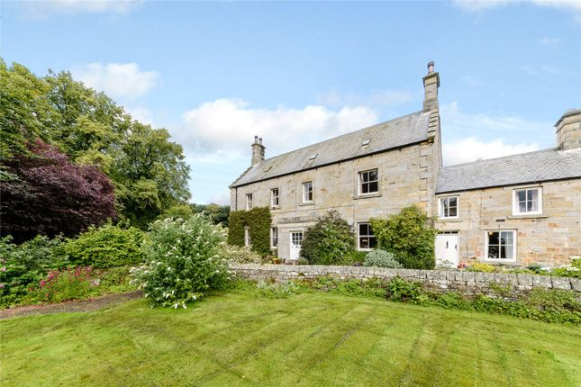 Thumbnail Terraced house for sale in Cambo, Morpeth, Northumberland