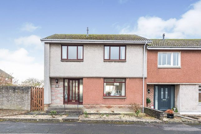 Thumbnail End terrace house for sale in Otterston Grove, Dalgety Bay, Dunfermline, Fife