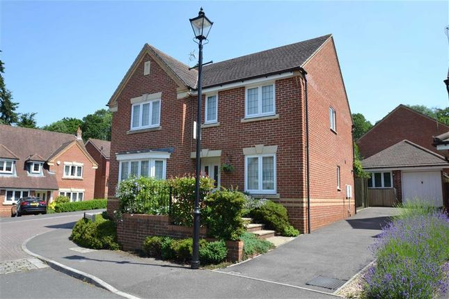 Thumbnail Detached house for sale in Kersten Close, Newbury, Berkshire
