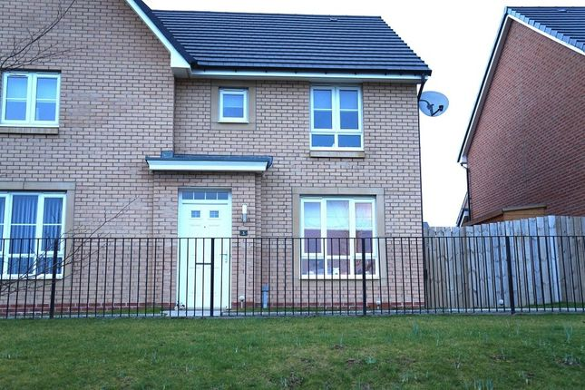Thumbnail Semi-detached house for sale in 3, Cot Castle View East, Stonehouse, Larkhall, South Lanarkshire