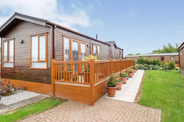Thumbnail Mobile/park home for sale in High Farm Holiday Park, Routh, Beverley