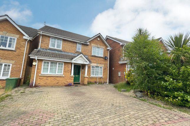 Thumbnail Detached house for sale in Burnet Drive, Penpedairheol, Hengoed
