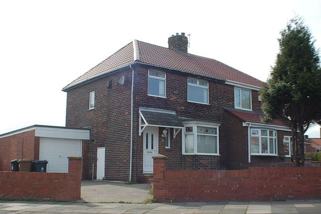 Semi-detached house to rent in Kings Road, Wallsend