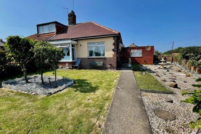 Thumbnail Semi-detached bungalow for sale in Debdon Gardens, Heaton, Newcastle Upon Tyne