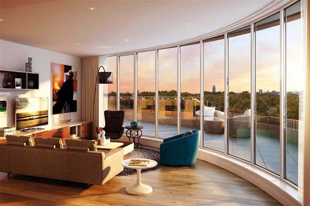 2 bed flat for sale in Vista, Chelsea Bridge, Battersea, London