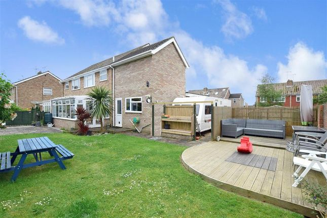 Thumbnail Semi-detached house for sale in Medway Close, Worthing, West Sussex