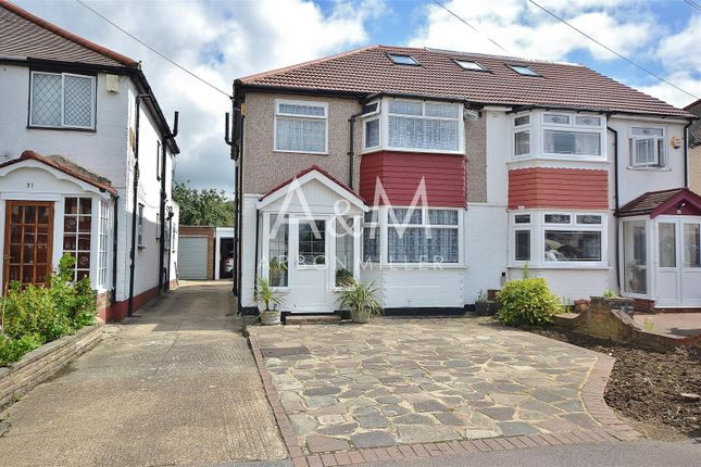 Thumbnail Semi-detached house for sale in Naseby Road, Clayhall, Ilford