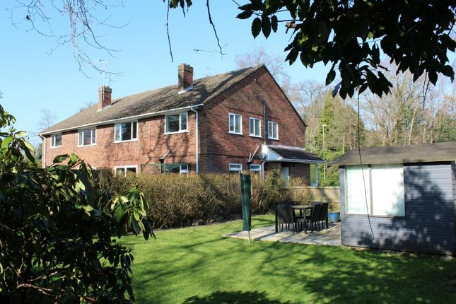 Thumbnail Maisonette for sale in Rectory Road, Farnborough