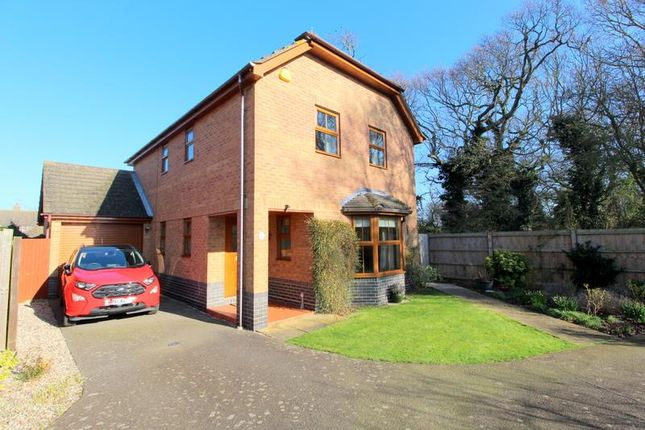 Thumbnail Detached house for sale in Plover Close, Kirby Cross, Frinton-On-Sea
