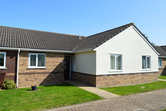Thumbnail Terraced bungalow for sale in Kelston Gardens, Weston-Super-Mare
