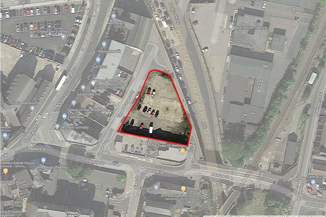 Thumbnail Land for sale in Upper Burgess Street, Grimsby, Lincolnshire
