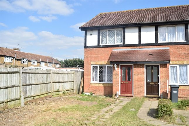 Thumbnail Semi-detached house to rent in Churchill Close, Feltham, Greater London