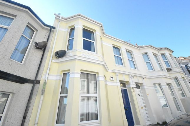 Thumbnail Flat to rent in Grafton Road, Plymouth
