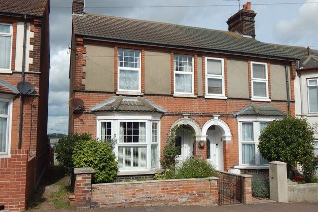 Thumbnail End terrace house for sale in Nelson Road, Dovercourt