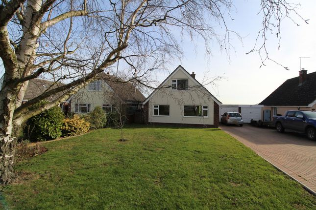 Thumbnail Detached bungalow for sale in All Saints Road, Creeting St. Mary, Ipswich