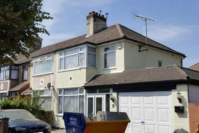 Thumbnail End terrace house for sale in Seabrook Gardens, Romford