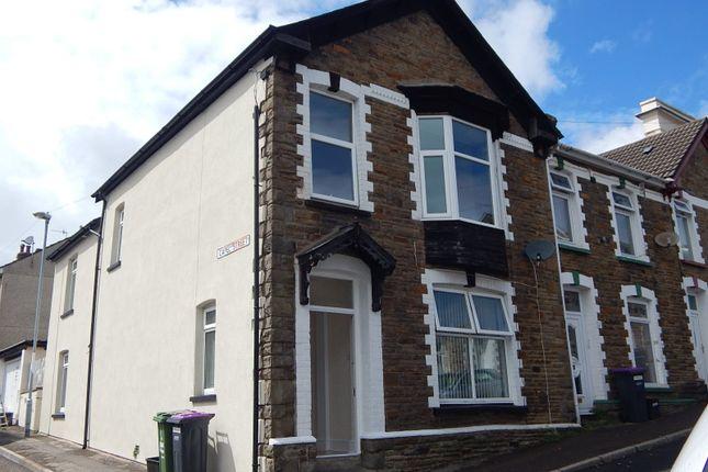 Thumbnail End terrace house to rent in Nicholas Street, Pontypool