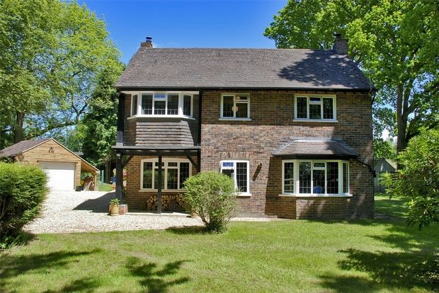 Thumbnail Detached house for sale in Holmsley Road, New Milton