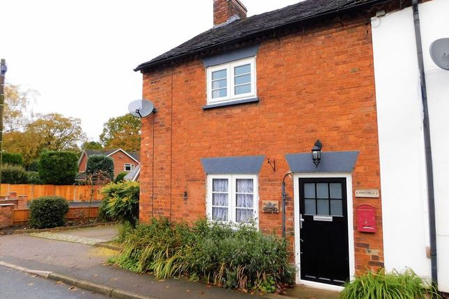 Thumbnail End terrace house for sale in The Green, Brocton, Stafford.