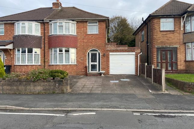 Thumbnail Semi-detached house to rent in Sledmore Road, Dudley