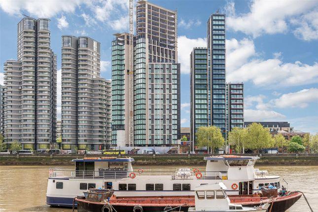 Thumbnail Flat for sale in The Dumont, Albert Embankment, London