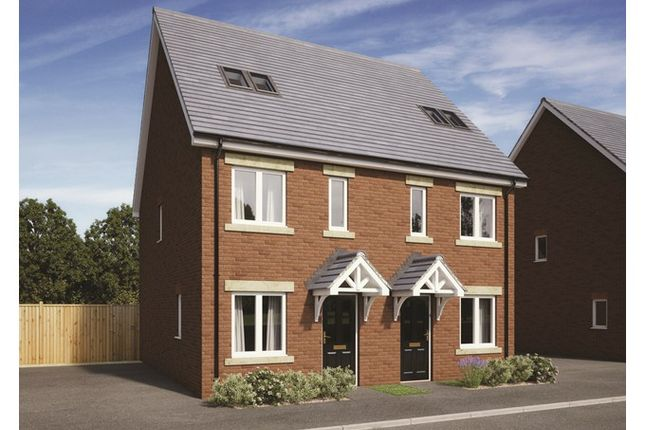 3 bed town house for sale in Plot 212, Badbury Park, Rainscombe Road, Swindon, Wiltshire