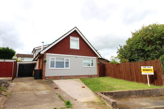 Thumbnail Detached bungalow for sale in Harrow Close, Caerleon, Newport