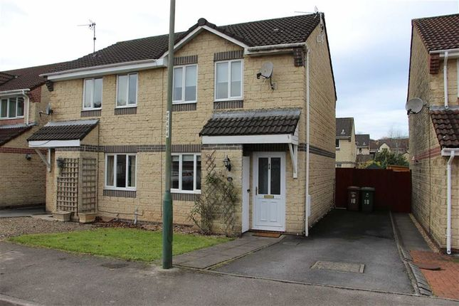 Thumbnail Semi-detached house to rent in Herons Way, Caerphilly
