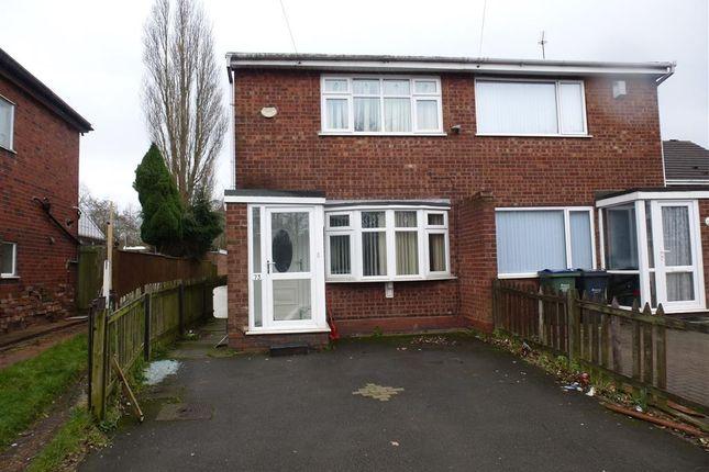 Thumbnail Semi-detached house for sale in Gospel Oak Road, Ocker Hill, Tipton