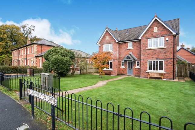 Thumbnail Detached house for sale in Cumwhinton Drive, Carlisle