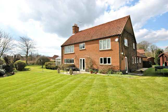 Thumbnail Detached house for sale in Low Road, West Acre, King's Lynn