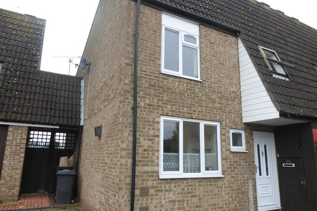 Thumbnail Terraced house to rent in Howland, Orton Goldhay, Peterborough