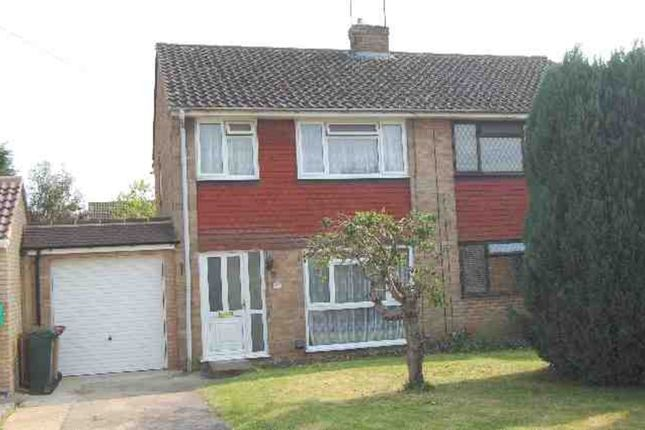 Thumbnail Semi-detached house to rent in Lemonfield Drive, Watford