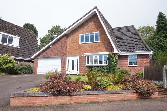 Thumbnail Detached house for sale in Chestnut Drive, Shenstone