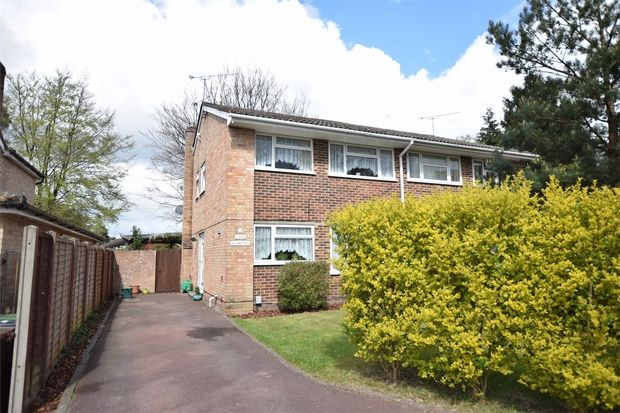 Thumbnail Semi-detached house for sale in Paterson Close, Frimley, Camberley, Surrey