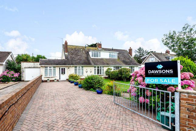 Thumbnail Semi-detached bungalow for sale in Heatherslade Road, Southgate, Pennard, Swansea