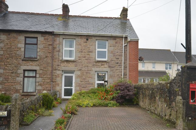 Thumbnail End terrace house for sale in Lower Pengegon, Camborne