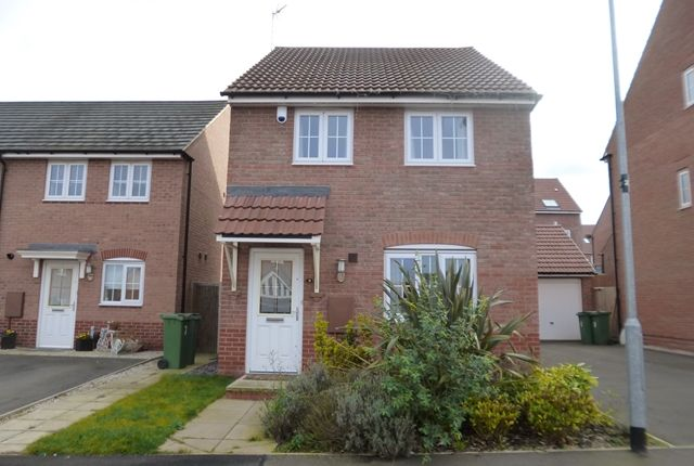 Thumbnail Detached house to rent in May Drive, Glenfield