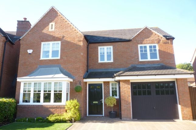 Thumbnail Detached house for sale in Wallett Drive, Muxton, Telford