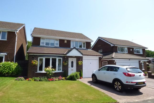 Thumbnail Detached house for sale in Royston Close, Greenmount, Bury