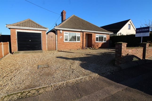 Thumbnail Detached house for sale in Grove Avenue, New Costessey, Norwich