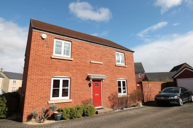 Thumbnail Detached house for sale in Cannon Corner, Brockworth, Gloucester