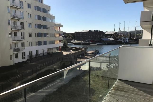 Thumbnail Flat to rent in Millennium Promenade, Bristol