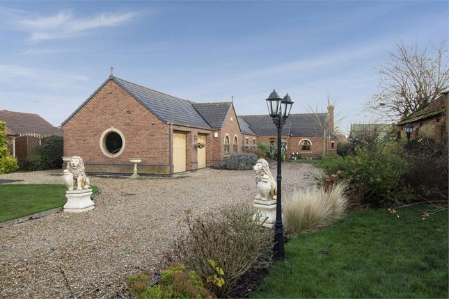 Thumbnail Detached bungalow for sale in Old Village Street, Gunness, Scunthorpe, Lincolnshire
