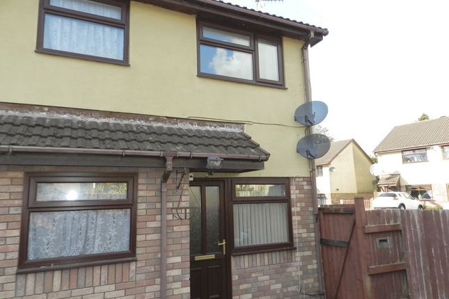 Thumbnail Terraced house for sale in Willowturf Court, Bryncethin, Bridgend