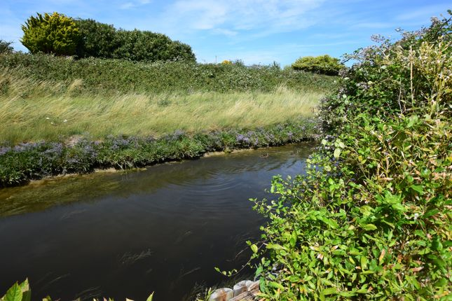 Stream of Coast Road, Pevensey Bay BN24