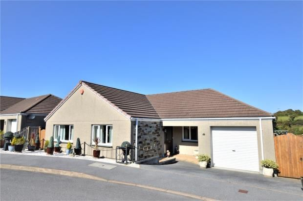 Thumbnail Detached bungalow for sale in Crembling Well, Barncoose, Redruth, Cornwall